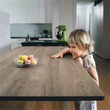 Compact laminate sheet made tops for tables waterproof impact resistant