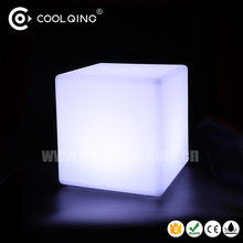 Lighted Cube Stool led Light up cube Decorative LED bar cube