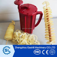 New Hand operated twisted chips potato spiral cutter/slicer