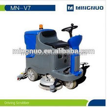Electric Floor Scrubber Machine, Manual Motor Scrubber For Cleaning Tile Floor Swimming Pool Car