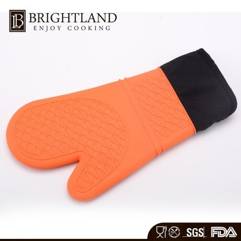 Heatproof Silicone Microware Gloves Baking Oven Mitt