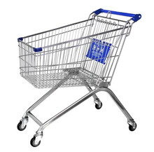 European style shopping cart 90kg capacity loads