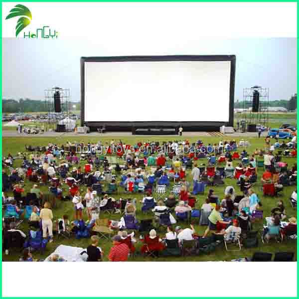 Most Popular Inflatable Rear Projection Screen High Quality Inflatable Screen For Advertisement