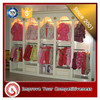 name brand clothing store MDF display stand for kids clothes