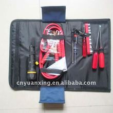 car emergency set,booster cable bag kits,foldable bag car
