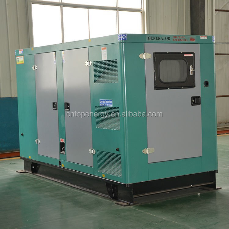 Industrial 800 kW Natural Gas Generator with Sound Enclosure