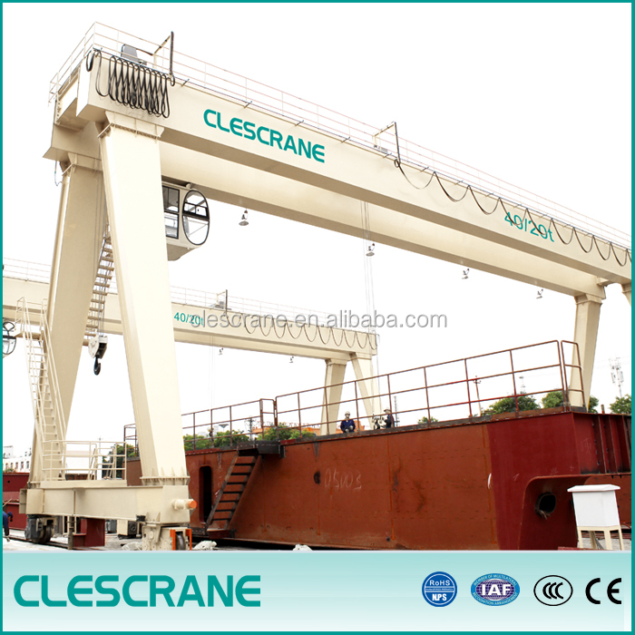 double shoe brake gantry crane hoist kobelco 100 ton crane demag 150 ton crane gantry type