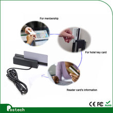 Hot selling Membership Card Reader, portable Loyalty Card Reader for Bar, Gym, Supermarket