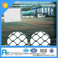 AEOMESH Galvanized Steel 50X50Mm Chain Link Fence For Gardens