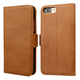 Magnetic flip mobile phone genuine leather cover case for iPhone 8