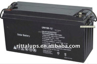 12V150AH for solar battery