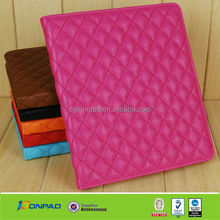 for ipad mini book style leather case in quilting