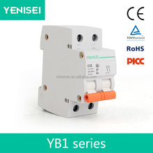 c45n miniature electrical circuit breaker price with din rail