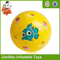Lovely pvc toy bounce ball, promotion ball, decal ball