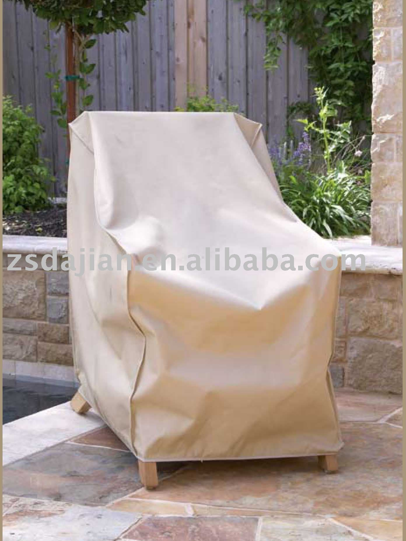 Chair Cover - outdoor furniture ; PVB/PVC w/ polyester