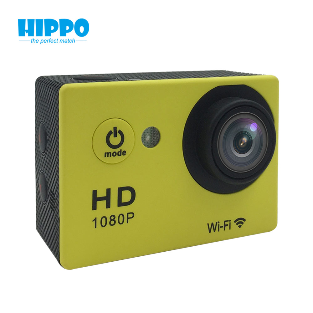 best 1080p digital mini 2.0 TFT LCD underwater 30M action camera WIFI
