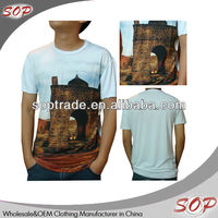 bangkok custom digital printed t-shirt for men 100 cotton made in china
