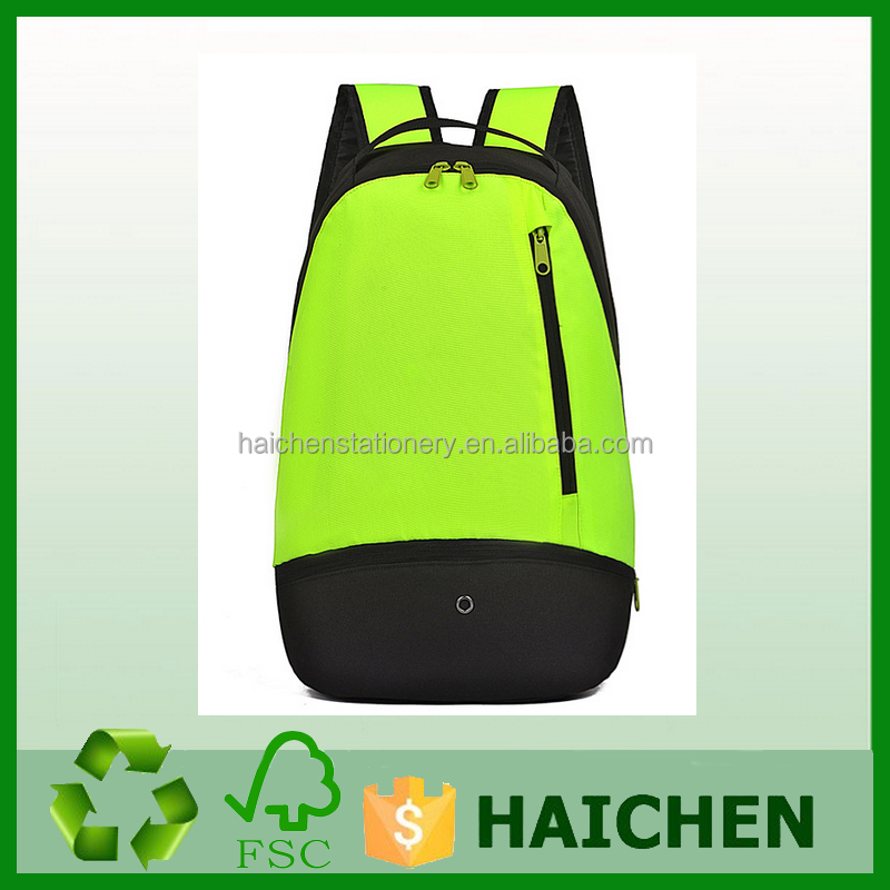 OEM ODM Waterproof sports bag /school backpack for teenagers/gym school bag