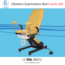 electric obstetric table / gynecological exam chair with foot switch
