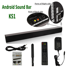 2.0 Channel Wireless Home Theater Best Sound Bars with Subwoofer Bluetooth Speakers