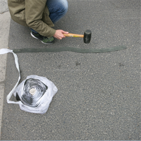 Elastic Pavement Crack Tape / Can Freely Stick According to Cracks Trending