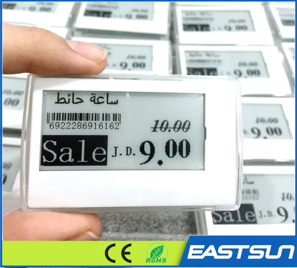 2.9 inch e-ink display e-paper price display tag electronic