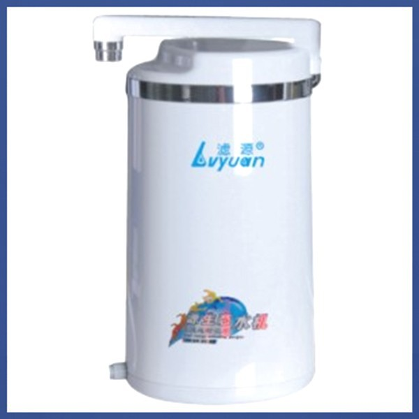 household alkaline water dispenser/municipal tap water to alkaline water making machine