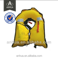 gas filled suit/ aerated swim suit/ inflatable life jacket