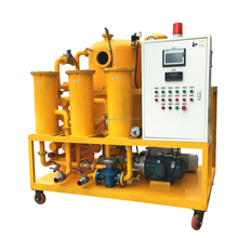 Automatic used oil treating vacuum transformer oil reclaimer