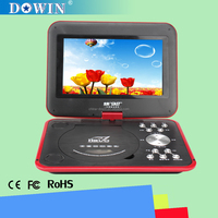 "china factory wholesale USB SD GAME TV 3D FLAT SCREEN video 9"" Portable DVD mini combo 3D movies 3D player with Best Sound"