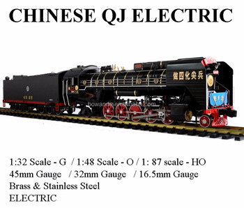 Qianjin , 1:32 Electric Chinese Locomotive (Brass made)