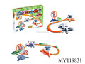 Novelty top toys orbital gyro competitive plastic toy spinning top