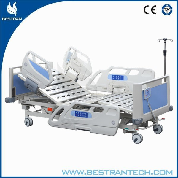 China BT-AE036 CE approved cardiac position electric and manual icu electric automatic hospital patient bed prices