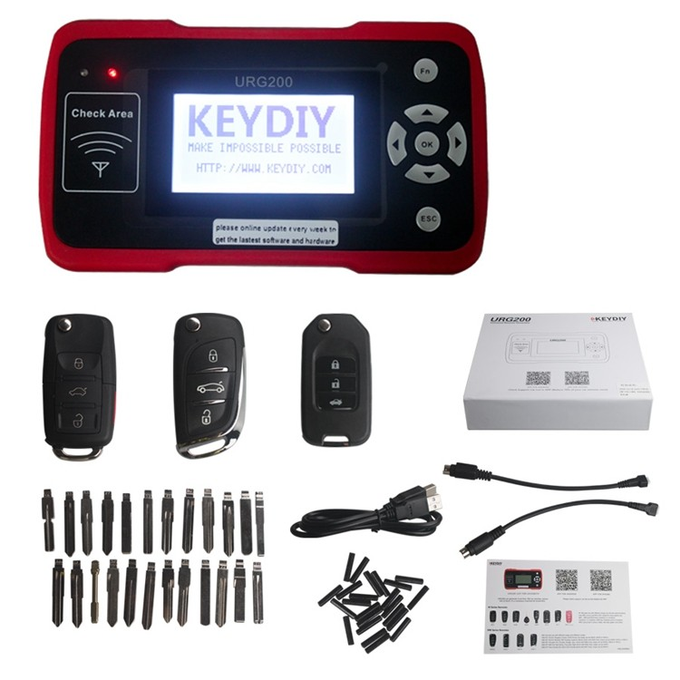 car programmer URG200 Remote Maker Update Online Best Remote Control Tool with 1000 Tokens URG200 machines that make keys AKP111