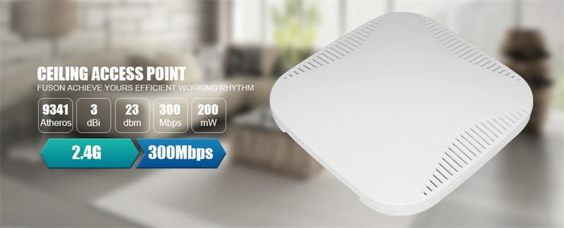 High-speed Wireless Network 11n 300mbps Wireless Ceiling Ap Wireless Access Point