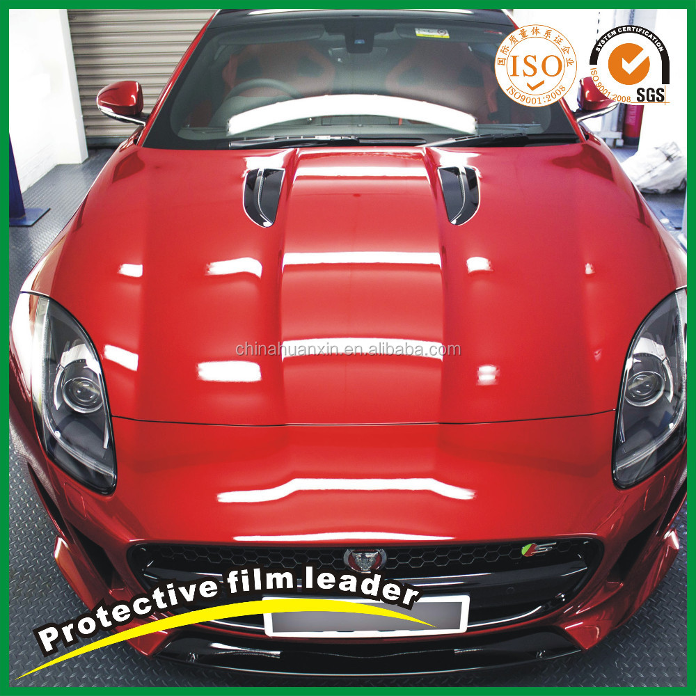 Blue Transparent Paint Protection Film for Car