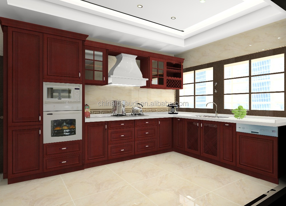 2016 top quality elegant american home kitchen cabinet for Best quality kitchen cabinets