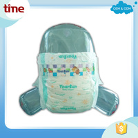 Factory price super dry surface fast absorbent sleepy baby diaper