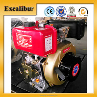 Customized 7.0HP Air- cooled Small Diesel Engine with Single Cylinder