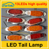 Colorful truck and trailer led side marker lamp factory price