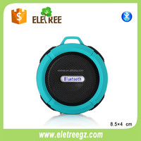 Mini bluetooth speaker with FM RADIO - Water Resistant - Wireless and Hands-Free speaker phone
