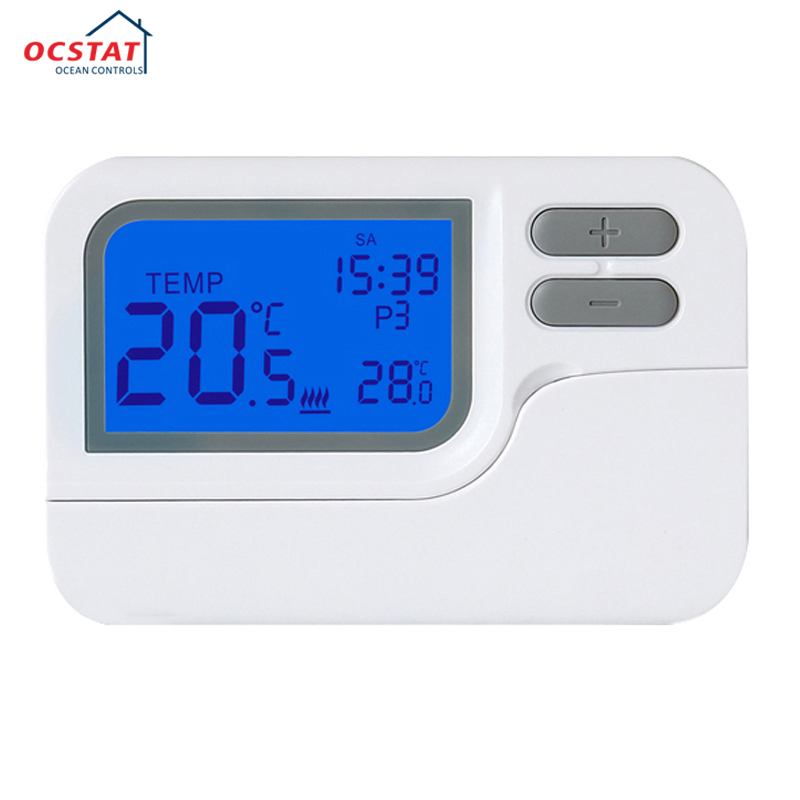 China Manufactuer New Design Boiler Digital Room Hot Programmable Radiator Thermostat