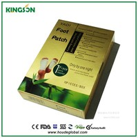 detox foot patch japan health product Chinese herbal natual detox foot patch for activating cells