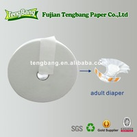 Best Fluff Pulp Absorbent Tissue Paper For Adult diaper or baby diaper