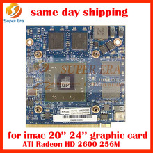 "256MB video card For imac A1224/a1225 20"" graphics card replacement 256MB HD2600"
