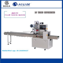 Full stainless automatic plastic film sealing wrapping automatic fried dough twist packing machine in wrapping machine