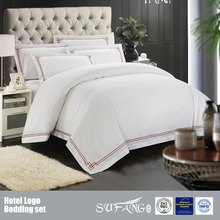 China Supplier Hote Bedding Set/Wholesale Cotton White Hotel Bedding Set/Popular Bedding Set Bed Linen For Hotel Use
