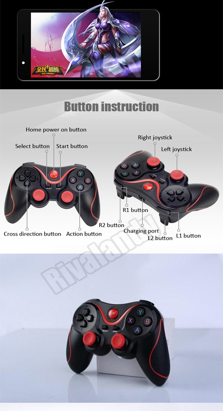 pp gun ipega multi-media bluetooth gamepad bluetooth gamepad