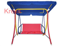 Outdoor Garden Parasol Funny Customized Two seat Kids Swings