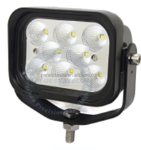 PA Auto Car Truck Tractor Square 40w LED Flood Beam Work Light